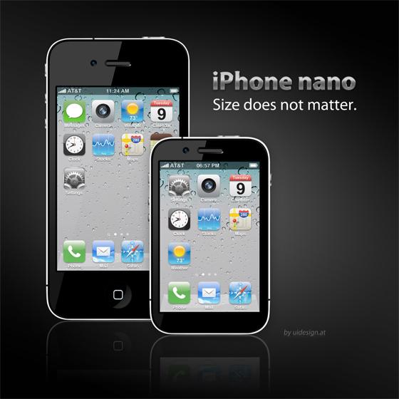 iPhone Nano Mockup