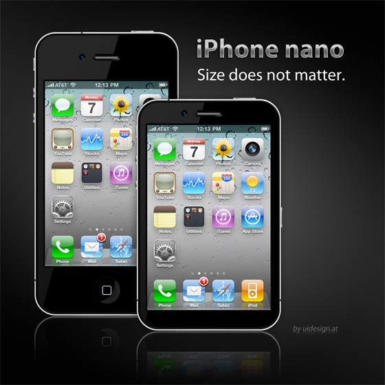 iPhone Nano Mockup Version 2