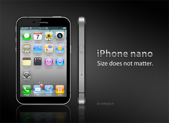 iPhone Nano Mockup Version 3